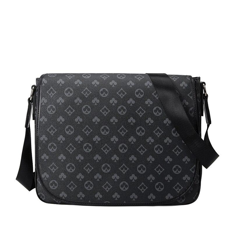 Роскошная дизайнерская мужская сумка-тофу, Повседневная Модная молодежная сумка на плечо в европейском и американском стиле, мессенджер из...