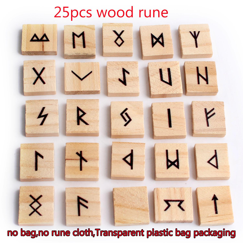 25 шт. натуральные мини квадратные деревянные руны, кубики руны, гадания, удачи, Рики, лечение, медитация, подарок, Декор|Камни| | АлиЭкспресс