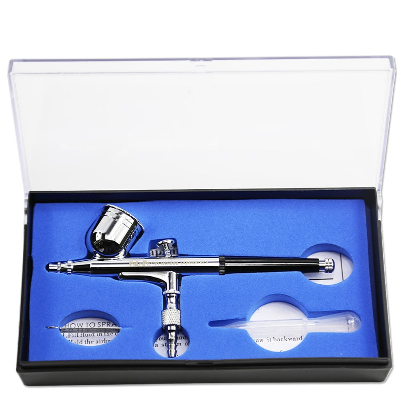 Airbrush Pen with 0.2mm 0.3 mm 0.5 mm Air Brush Spray Gun Sprayer Pen for Nail Art / body Tattoos Spray / Cake / Toy Models
