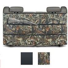 Czarny Camo karabin kabura skrzynia Rack organizator dla większości SUV ciężarówki tylne siedzenie samochodowe pojazd Shotgun przechowywania polowanie woreczki strunowe