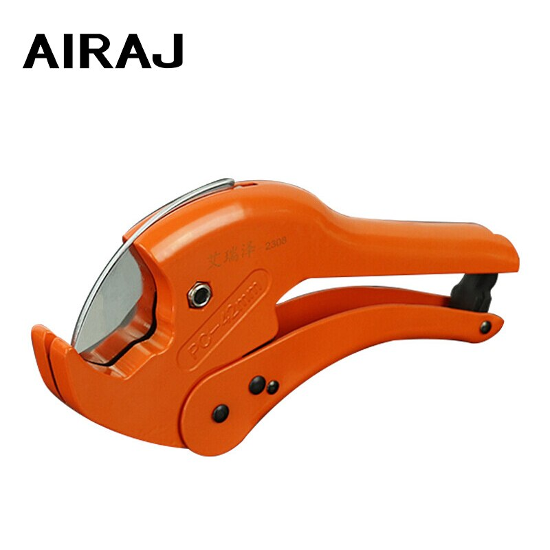 AIRAJ PVC/PPR Pipe Cutter Knife-Cut Scissors Cutting Range 36-64mm Scissors Pipe Cutter Ratchet Hose Cutting Hand Tools