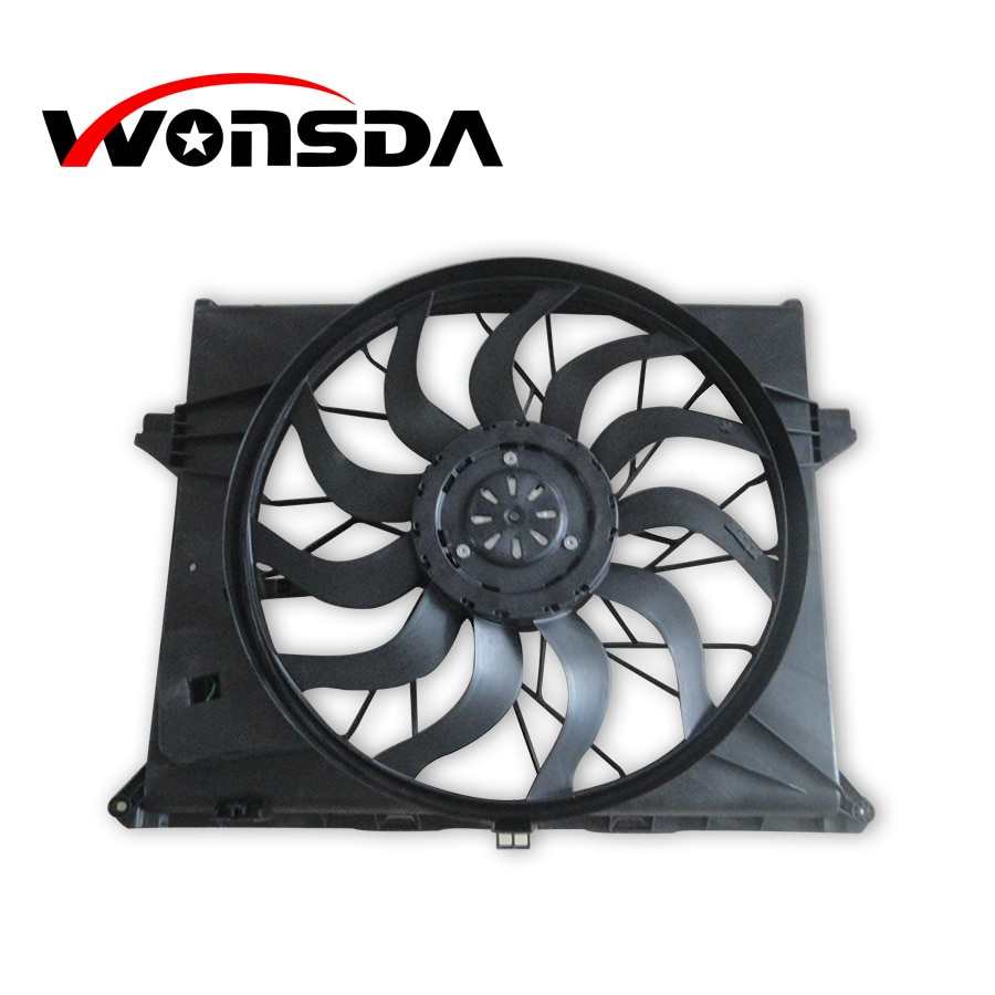 Car Radiator Fans Fits for Mercedes W164(251) OEM Auto Parts Cooling Electric Fans enlarge