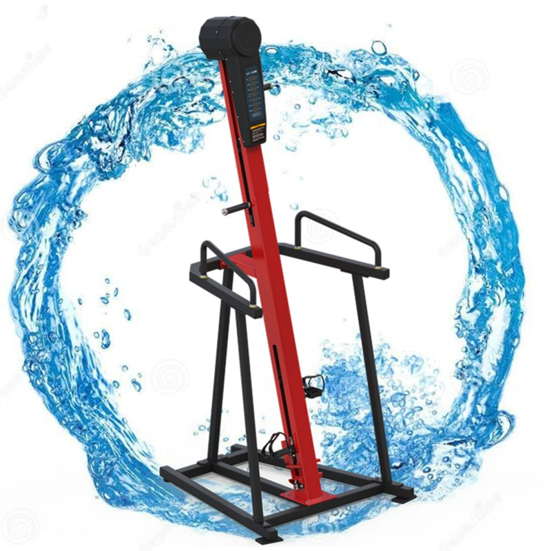 Máquina trepadora de ejercicio para el hogar, máquina de escalada motorizada vertical multifuncional para el hogar