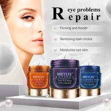 Breylee Eye Cream Retinol Hyaluronic Acid Vitamin C Moisturizing Ageless Anti Wrinkle Firming Whitening Skin Care Eyes Serum 20g