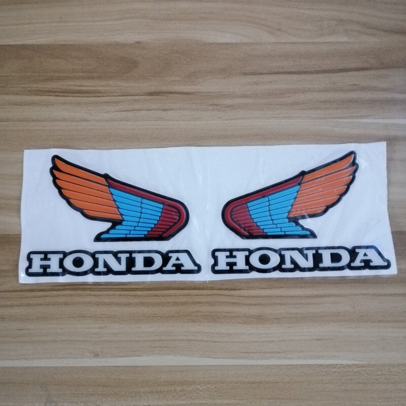 Motorrad 3D Rot Flügel Aufkleber verkleidung Aufkleber Aufkleber Für Honda 800 vfr grom msx125 tank cbr650r 600rr cbr denim cbr650f