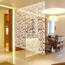 Maison mode décoration papillon fleur suspendus écran Partition creux suspendus écran Restaurant salon