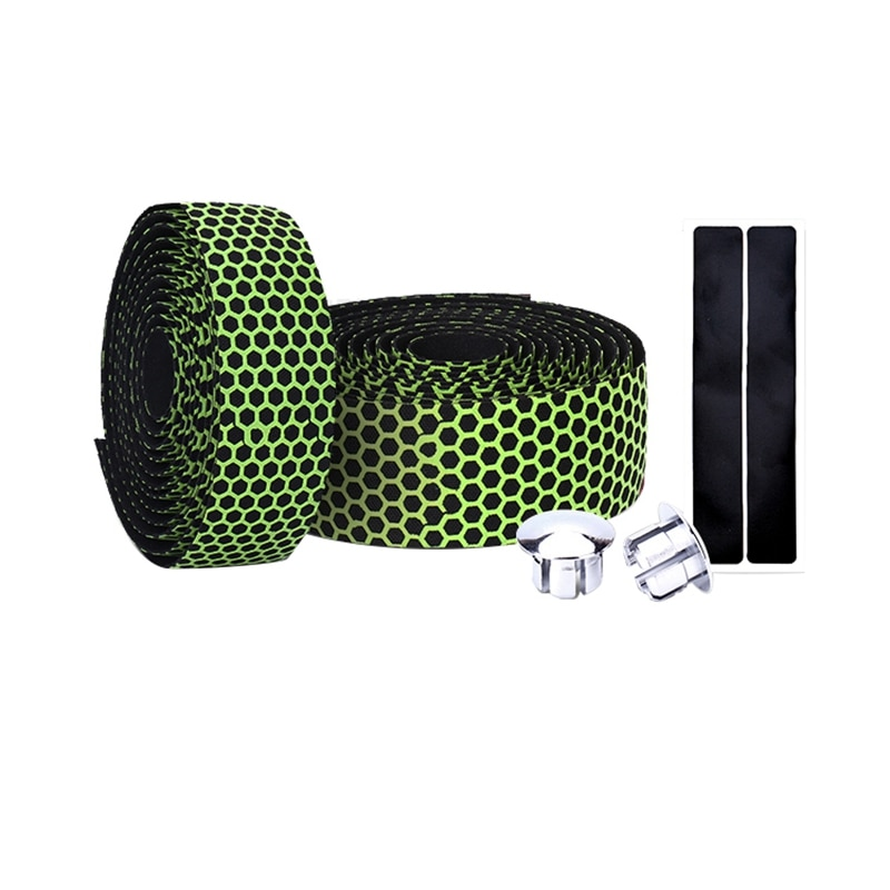 Cinta para manillar de bicicleta de carretera, cinta ultraliviana para manillar de bicicleta, accesorios, Verde