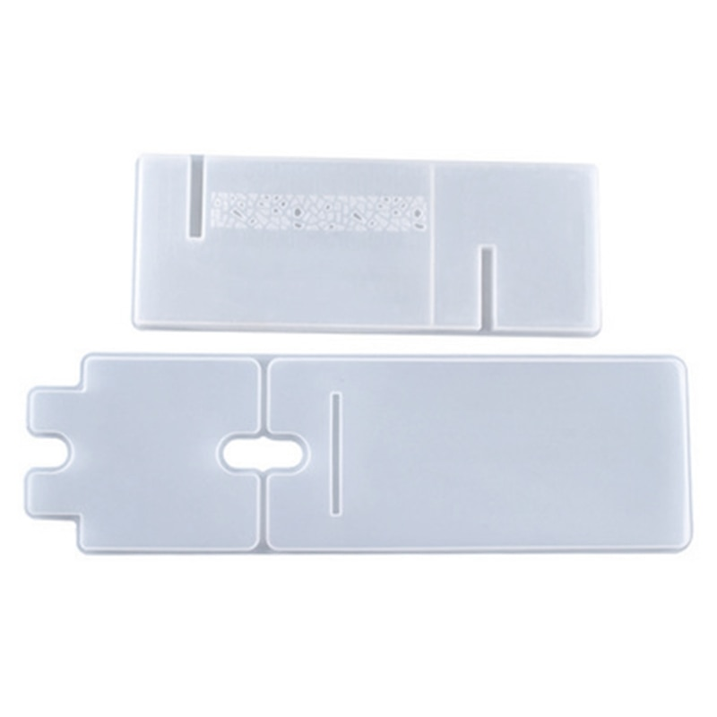 Crystal Epoxy Resin Mold Cellphone Bracket Tablet Holder Mobile Phone Stand Silicone Mould DIY Crafts Casting Tool