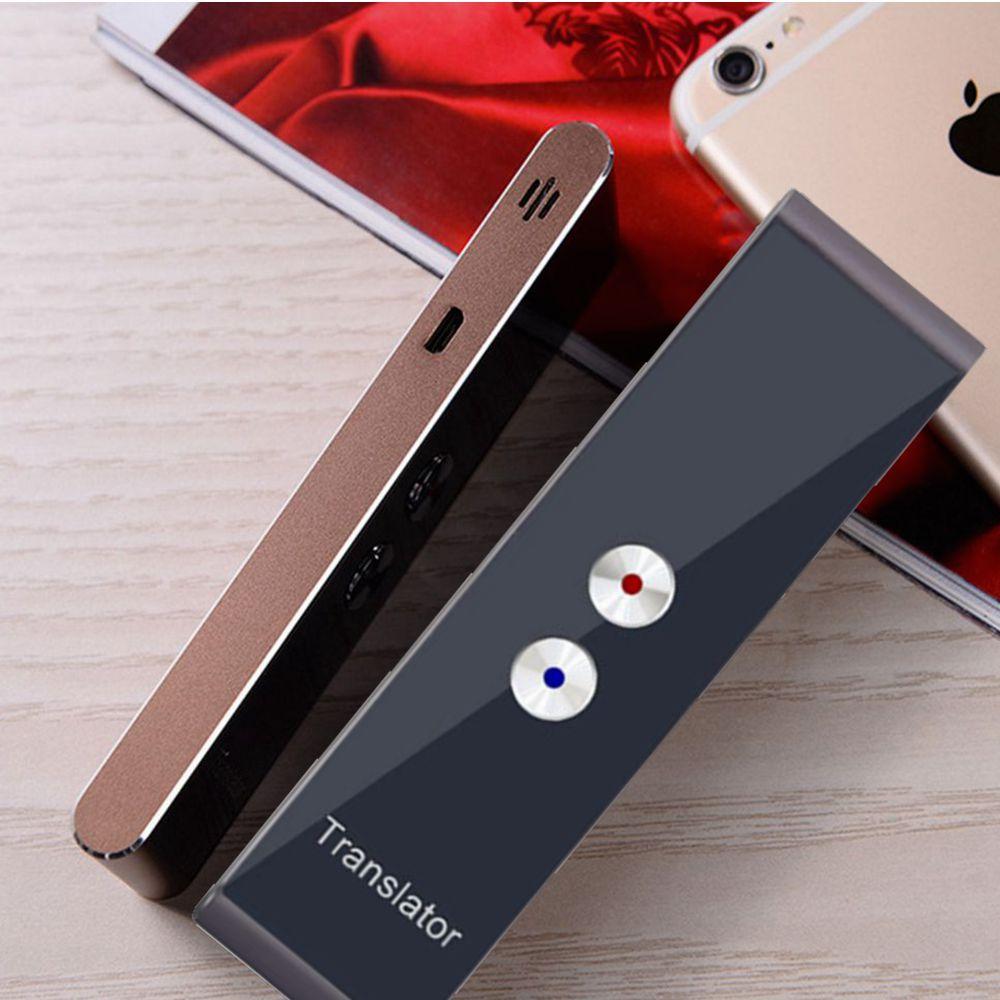 Intelligent Translator Portable  Wireless68Languages Bidirectional Real-time Instant Voice Translator APP Bluetooth Multilingual