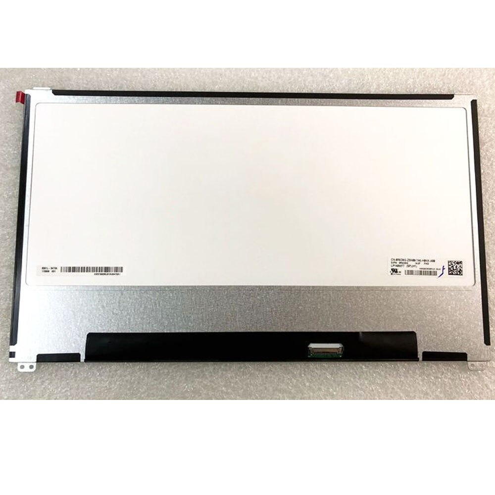 Nueva NT140WHM-N42 NV140FHM-N47 pantalla LCD para ordenador portátil 1920*1080 EDP 30 pines para dell Latitude 7480 7490 7468 reemplazo de pantalla