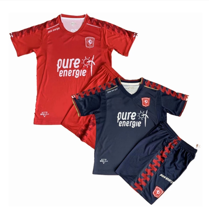 Conjuntos de uniformes FC Twente chándal para niños y niñas... camisas deportivas...