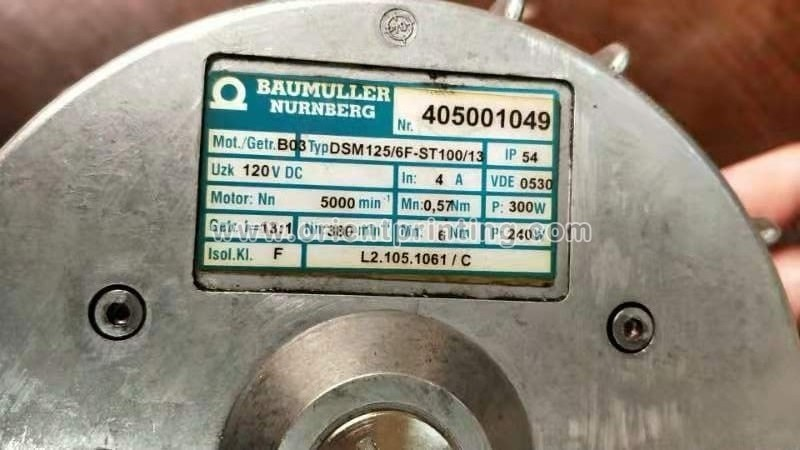 L2.105.1061 Water Pan Roller Drive Alcolor Motor For Heidelberg CD74 XL105 Machine