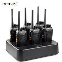6 шт., портативная рация Retevis RT27 с зарядным устройством
