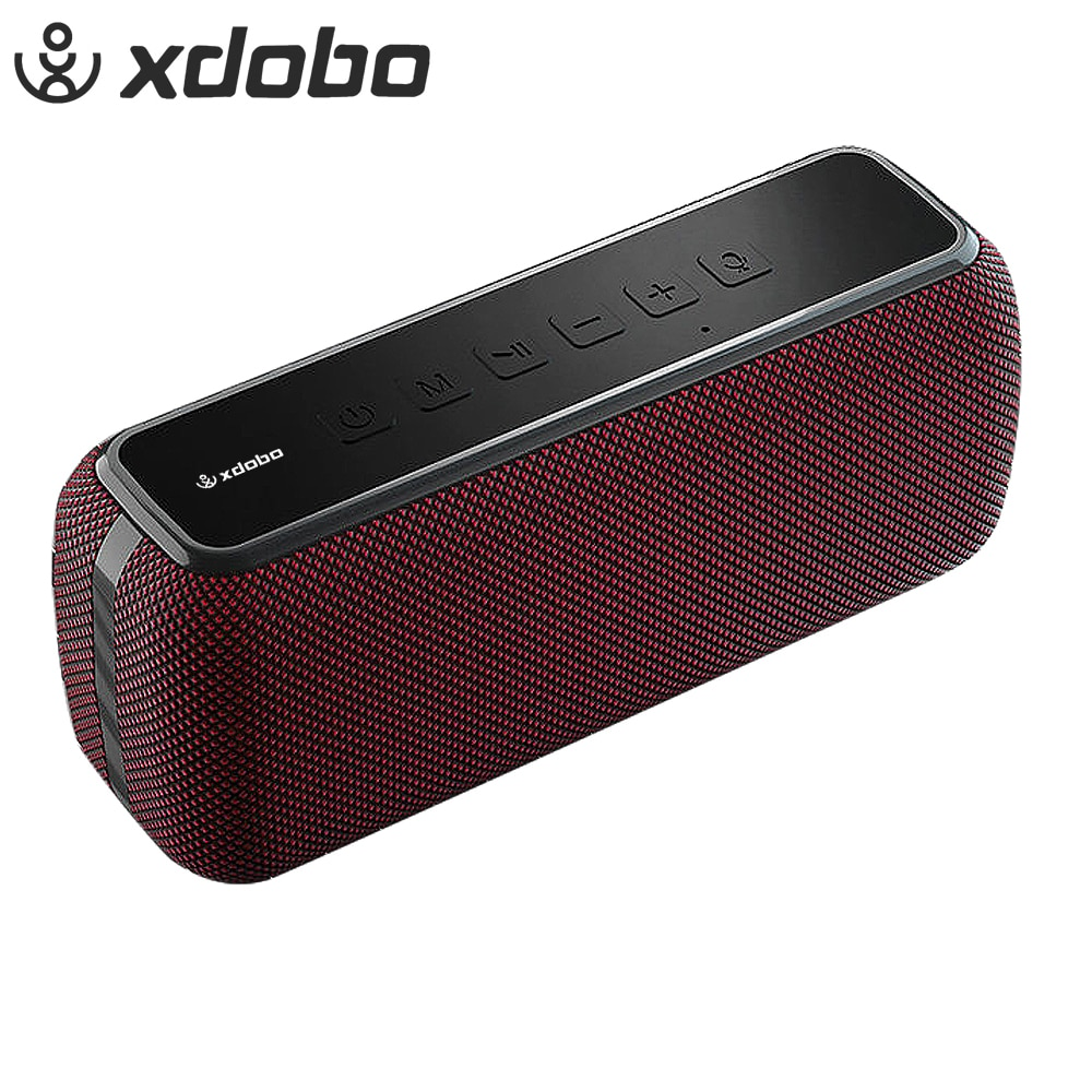 XDOBO X8 60W Portable Wireless Bluetooth Speakers TWS Bass with Subwoofer IPX5 Waterproof Connection distance 80m 15H Play time