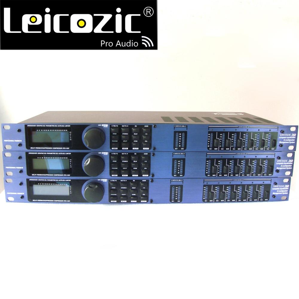 Leicozic-حامل مكبر صوت PA 260 ، 3in6out ، نظام إدارة الصوت ، البرامج الأصلية ، pro audio