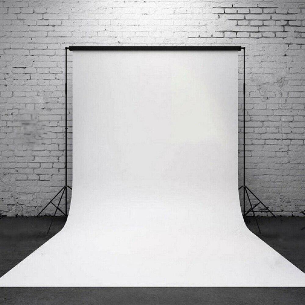 Виниловый фон для фотосъемки с изображением чистой белой стены, 6 х10 футов