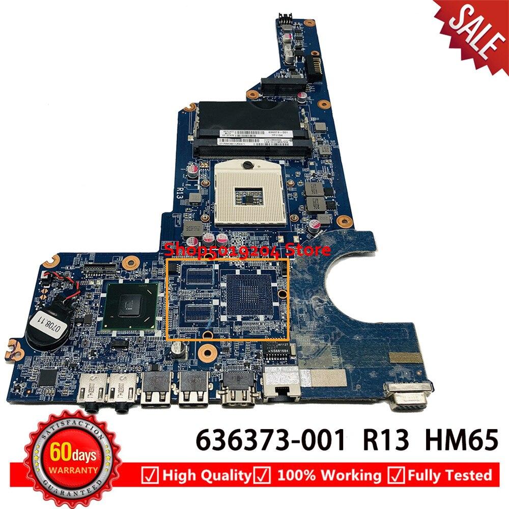 Principal para hp Placa g7 G7-1000 g4 Laptop Motherboard Da0r13mb6e1 31r13mb0000 Hm65 G4-1000 R13 636373-001 g6