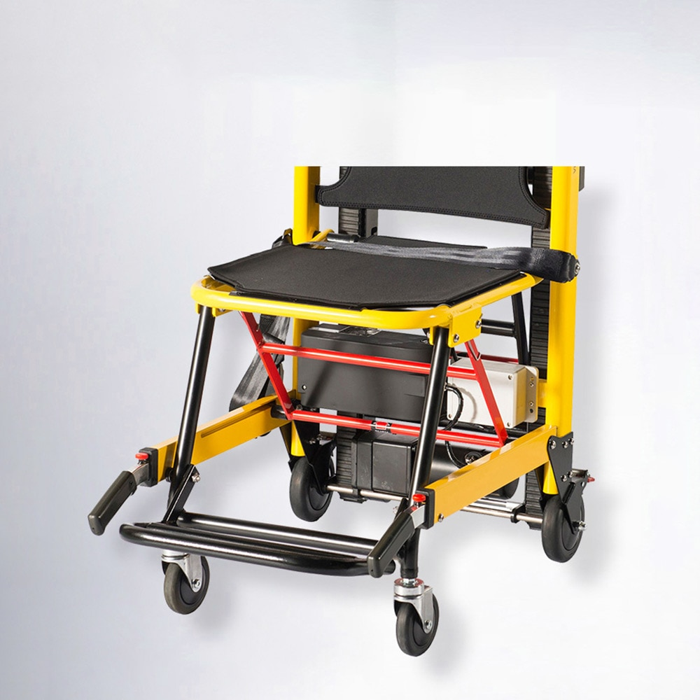 chargeable Electric Climbing Wheelchair Up and Down The Stairs Portable Folding Climbing Machine Cart for Elderly Disabled enlarge