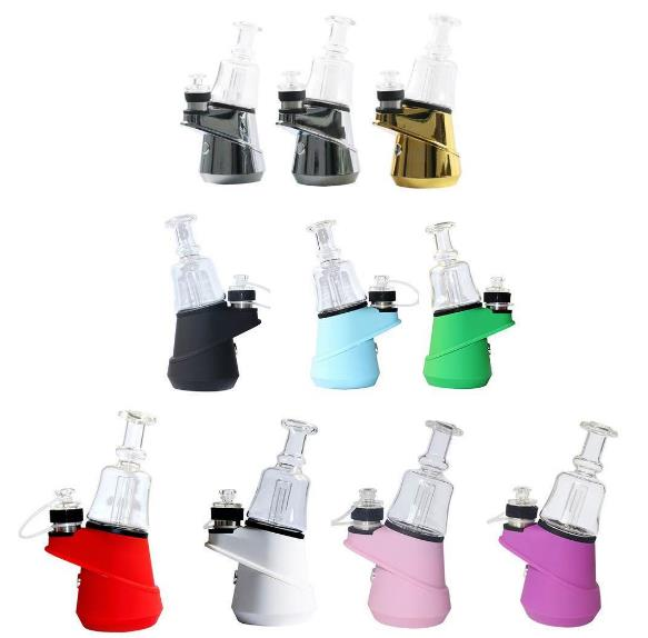 1 Pcs Tobacco Smoke Pipe Dabcool W2 Electric Dab Rig Kit 1500mah Waterproof Heating Base Enail for Wax Concentrate Shatter enlarge