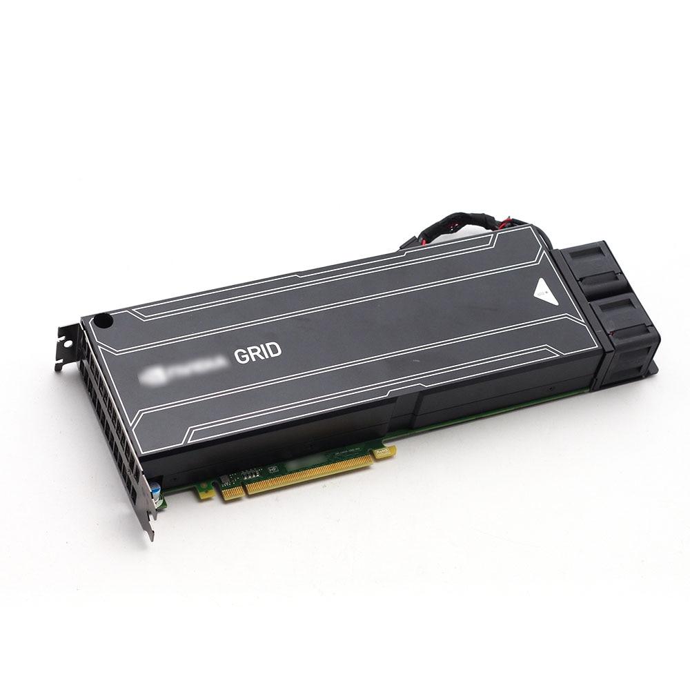 Network-بطاقة رسومات سطح المكتب ، K2 ، 8 جيجا بايت ، شريحة رسومات vGPU ، تقديم افتراضي ، بطاقة حوسبة GPU لـ NVIDIA