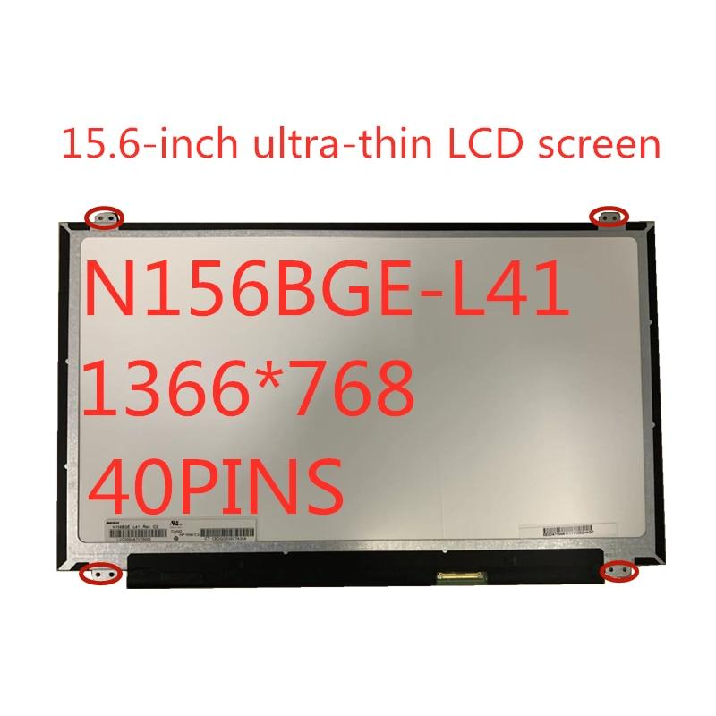 15 6 slim screen glossy n156bge eb2 eb1 e31 e41 e42 lp156whu tp lp156wh3 tp b156xtn03 1 ltn156at31 33 nt156whm n12 b156xw04 v 8 N156BGE-L41 B156XW04 V.5 LTN156AT20 LTN156AT35 LP156WH3-TLSA 15.6-inch Laptop Display LCD Screen 1366 * 768 LVDS 40pins