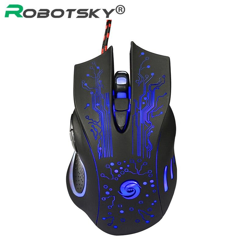 Ratón para juegos K1013 con cable 6 botones 3200 PPP ratón ergonómico óptico profesional Esports ratón de oficina para ordenador