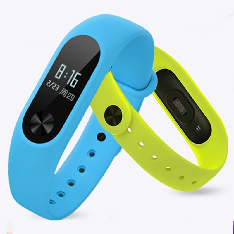 Sport Strap for Xiaomi Mi Band 2 Strap Silicone wrist band For xiaomi mi band 2 accessories bracelet Miband 2 Strap