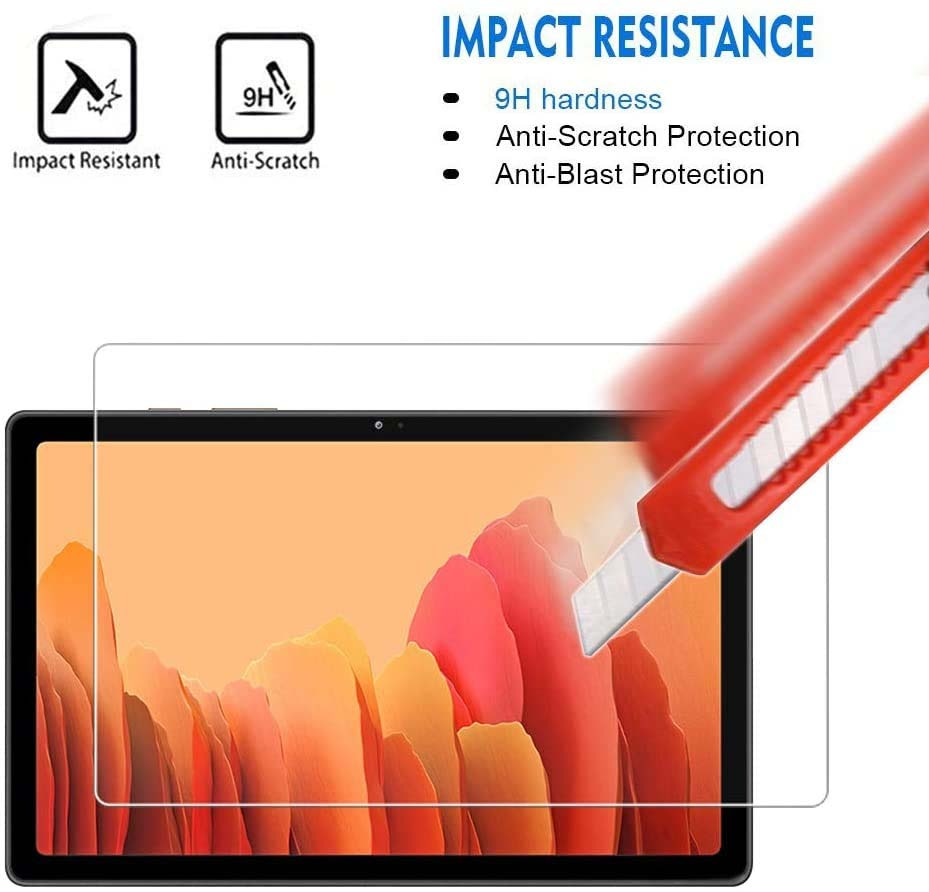 Tablet Tempered Glass Screen Protector Cover for Samsung Galaxy Tab A7 2020 T500 T505 10.4 Inch HD Eye Protection Tempered Film on AliWatcher