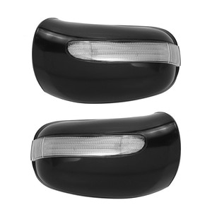 Car Door Mirror Housing Cover W Turn Signal Light for Mercedes Benz W220 W215 S320 S430 2208100164