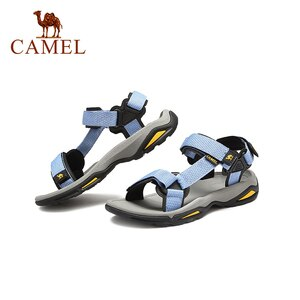 CAMEL 2021 New Summer Beach Women Sandals Flat Casual Sandals Outdoor Sea Water Ladies Shoes Comfortable Fashion Female Footwear