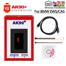 AK90 plus Für BMW V 3,19 AK90 + OBD2 Auto Schlüssel Programmierer für BMW CAS/EWS von 1995-2009 AK90 + Schlüssel Programmierung Werkzeug