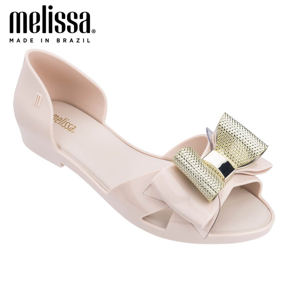 Melissa Bow Original mujeres Adulto Jelly Zapatos Sandalias de moda 2020 mujeres Jelly Sandalias Melissa zapatos femeninos Sandalias Mujer