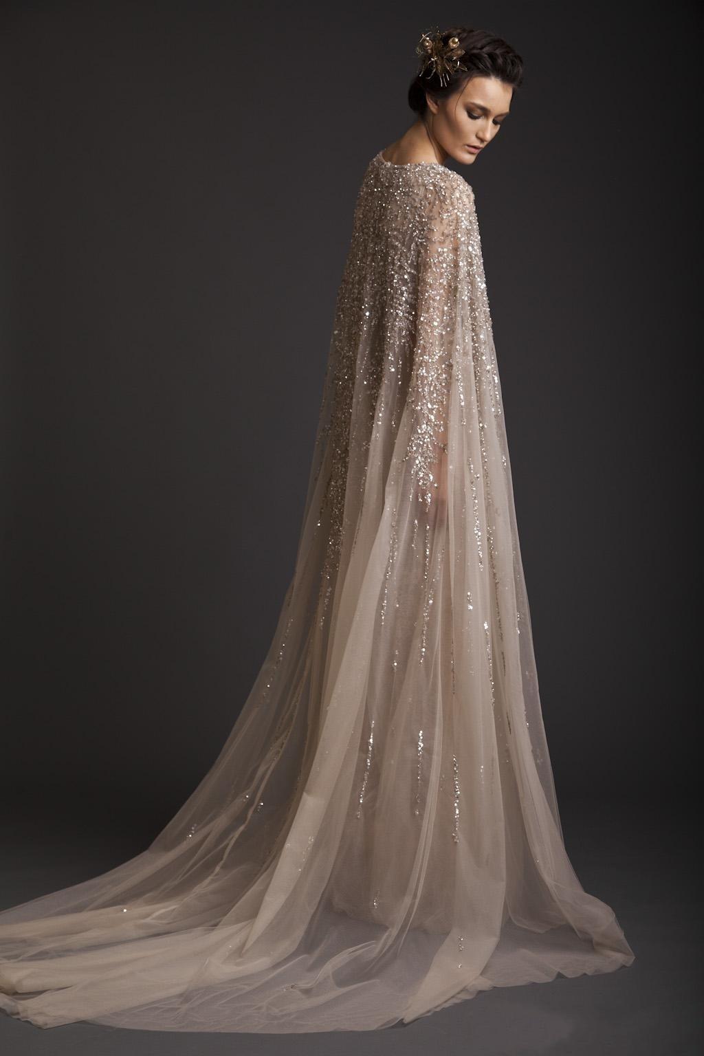 فستان زفاف شفاف ، خط a ، طاقم ، لون شامبانيا ، زينة باللؤلؤ