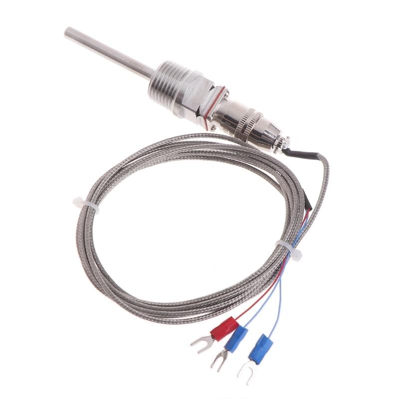 RTD Pt100 датчик температуры зонд L 5 см 1/2
