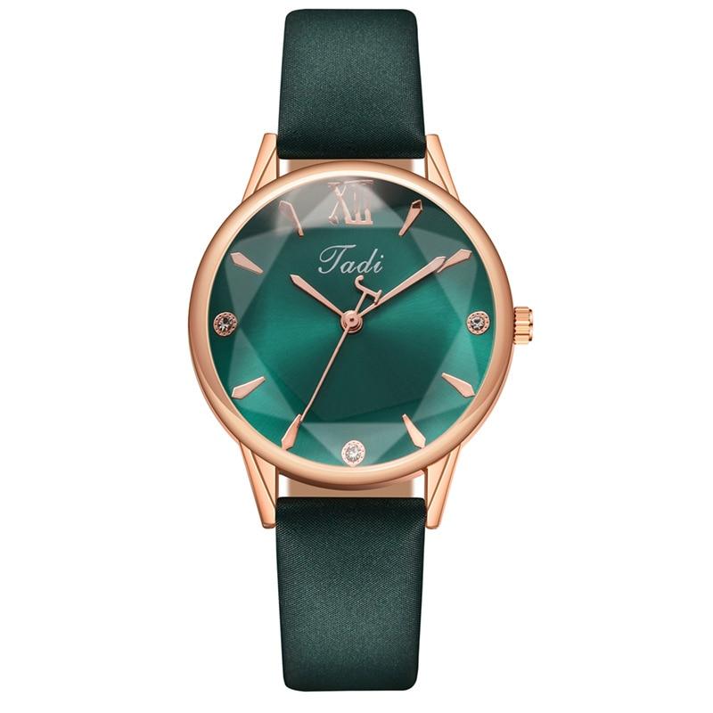 YUNAO 2021 Student Women's Watch Casual Fashion Watch Explosive Personality Polygon Pattern Dial Belt Quartz Watch Gift Watch enlarge