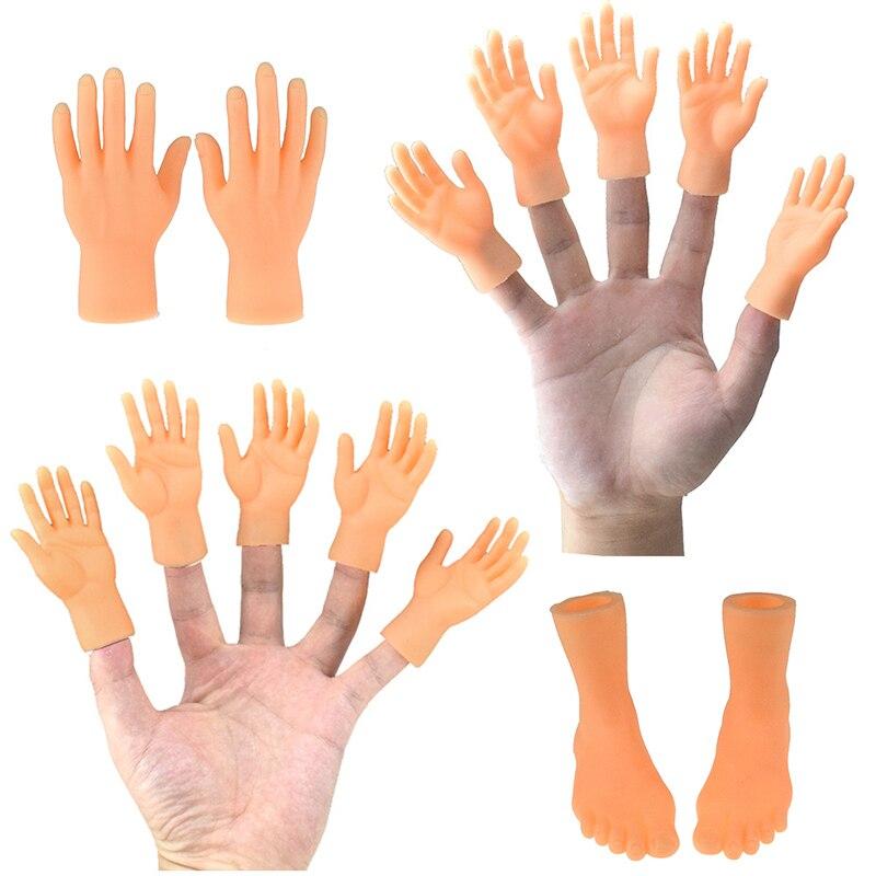 Хэллоуин приколы и розыгрыши смешной палец рукав для пальца Игрушечная модель хитрый игрушка для детей ручной ужас модель игрушки