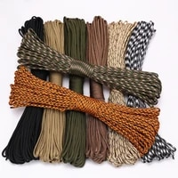 4 size dia 4mm 9 stand cores paracord for survival parachute cord lanyard camping climbing camping rope hiking clothesline