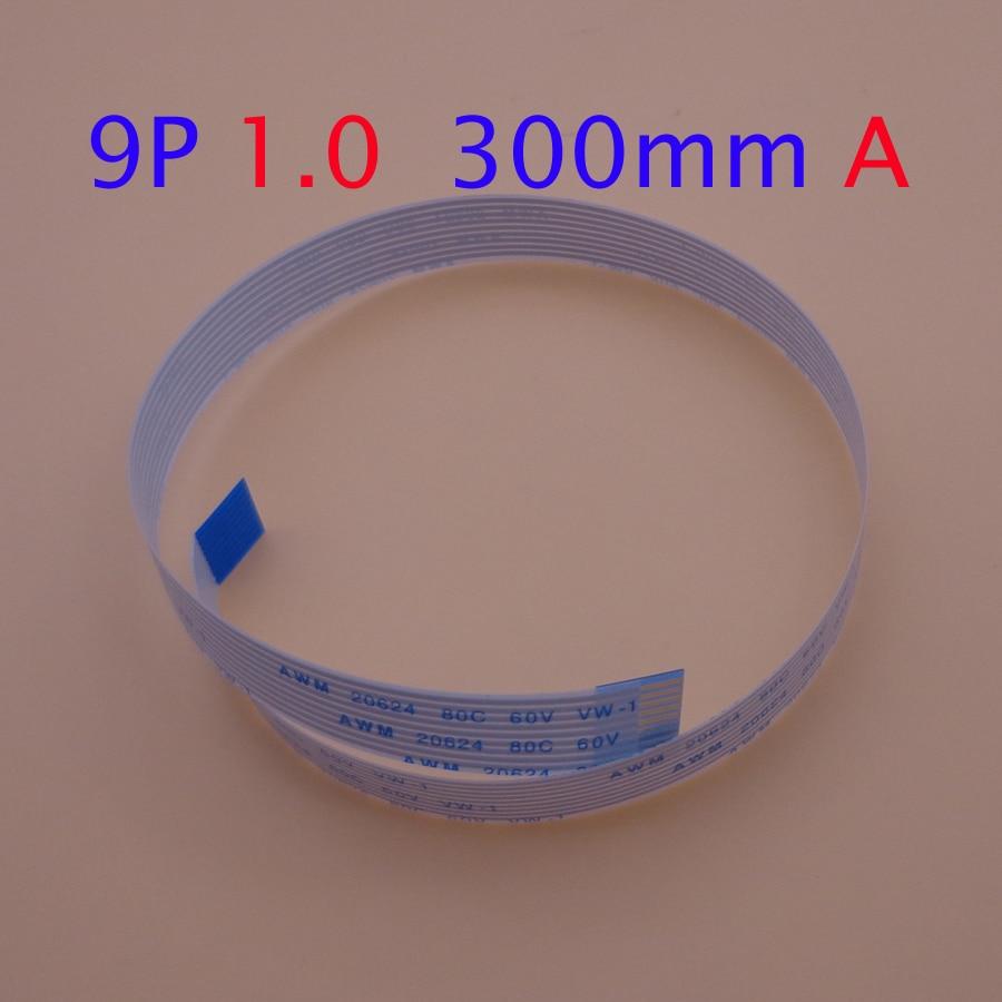 100 قطعة 13pin FFC الشركة العامة للفوسفات شقة الكابلات المرنة 0.5 مللي متر الملعب 13 دبوس إلى الأمام طول 250 مللي متر 25 سنتيمتر الشريط فليكس كابل AWM 20624 ...