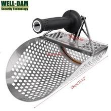 Gold Hunter Metal Detector PinPointer Beach Shovel Scoop Stainless Steel Sand Scoop