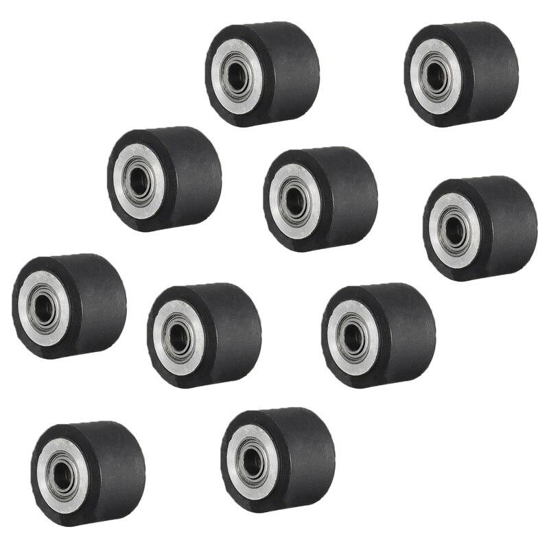 5 uds. Pellizco rueda maquinaria Plotter 4x11x16mm rodamiento de ruedas PIEZAS PARA CORTE DE VINILO Roland