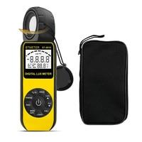 BTMETER BT-881E Digital Illuminance/Light MeterHandheld Ambient Temperature Measurer with Range up to 300000 Lux Luxmeter