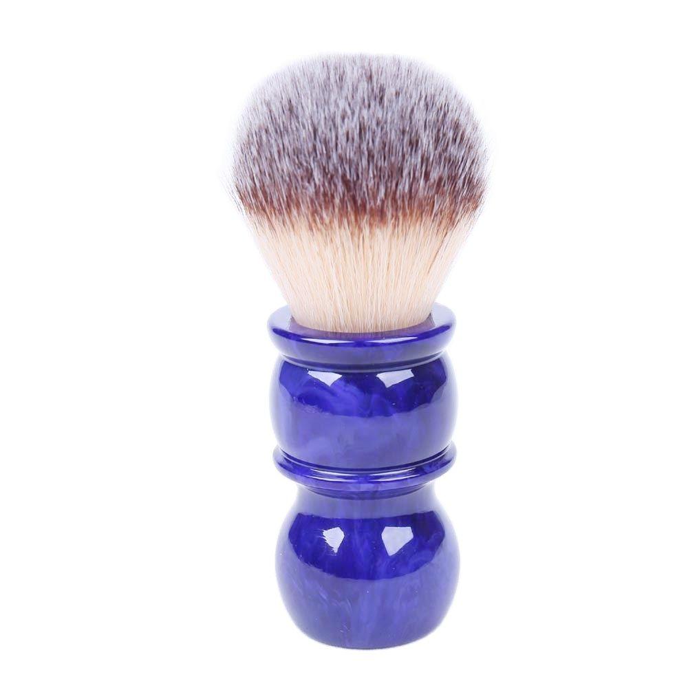 yaqi 24mm moka express synthetic hair shaving brush 24MM Yaqi Bluish Violet Synthetic Hair Shaving Brushes