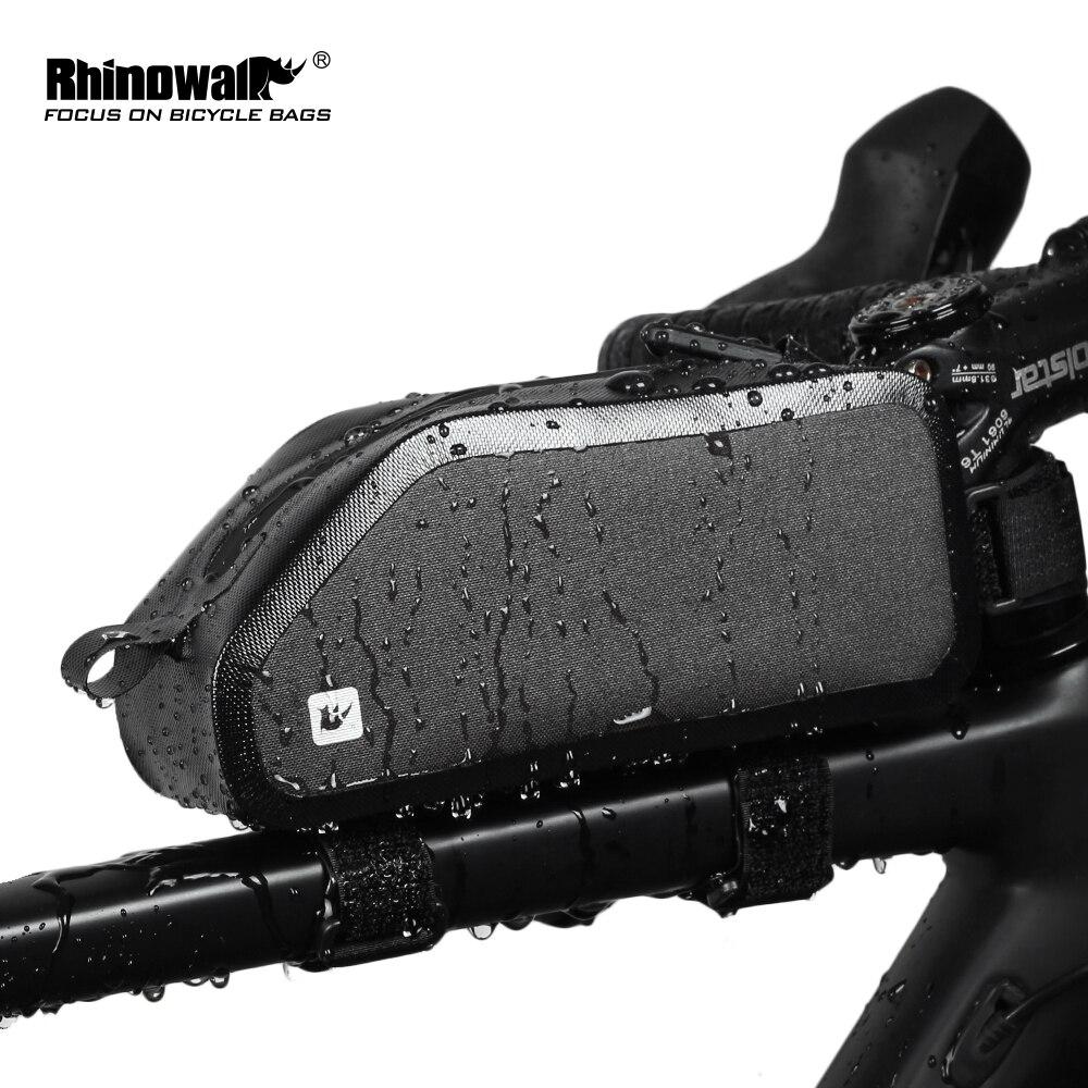 RHINOWALK Cycling Bike Bicycle Front Tube Bag Waterproof Frame Bag MTB Bicycle Pannier велосипедная сумка RK18332
