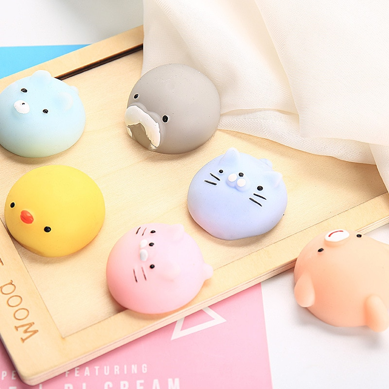 NEW Squishy Toy Cute Animal Antistress Ball Squeeze Mochi Rising Toys Abreact Soft Sticky Squishi Stress Relief Funny Gift enlarge