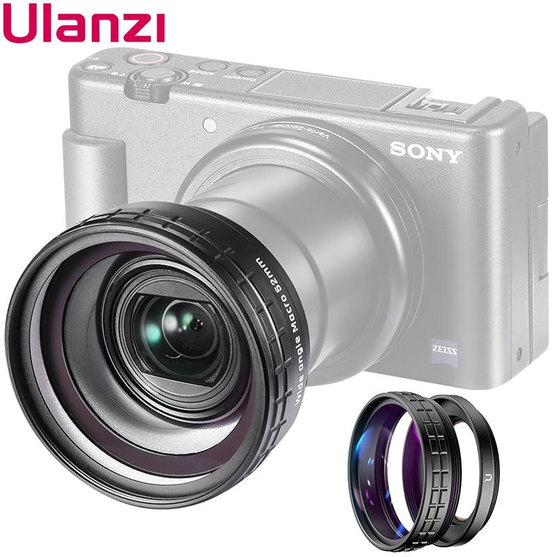 Ulanzi WL-1 ZV1 10X HD макрообъектив 18 мм широкоугольный объектив для камеры Sony ZV-1 аксессуары для камеры