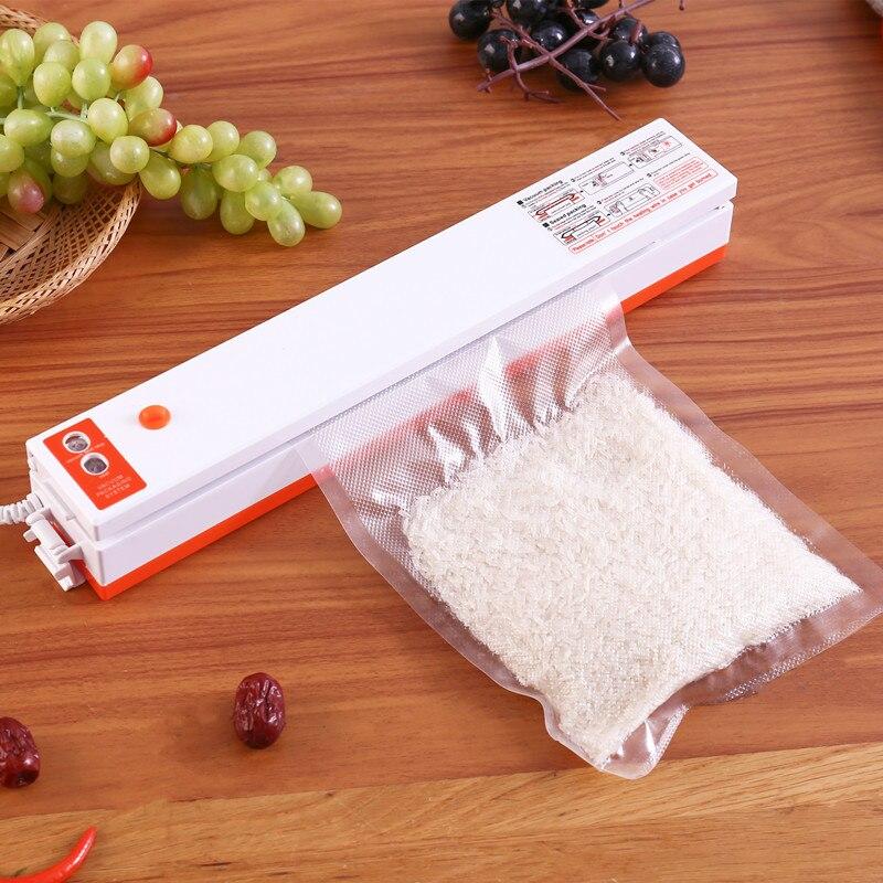 Горячая Распродажа Электрический вакуумный упаковщик упаковочная машина для Кухня с 15 шт. сумки 220V/110V бытовой пищевой вакуумный упаковщик