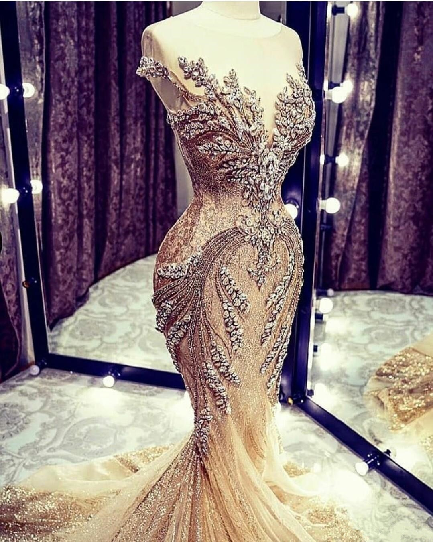 Luxury Full Lace Mermaid Wedding Dresses with Overskirts Jewel Neck Long Sleeves Applique Chapel Train Dress vestidos de