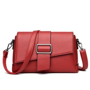New Soft Leather Flap Bags Ladies Fashion Women's Leather Handbags Shoulder Bags For Women Messenger Bags Bolsas Feminina