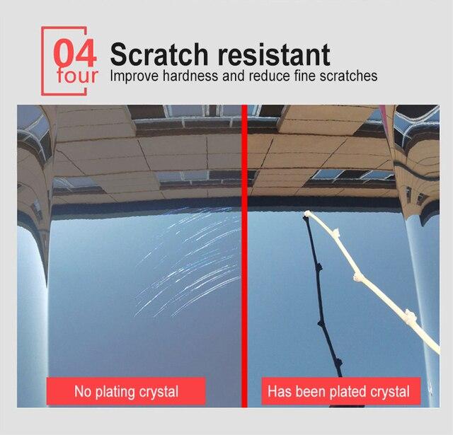 9H Liquid Nano Ceramic Car Paint Care  Glass Coating Super Hydrophobic Anti Scratch Polish Car Wash  Maintenance