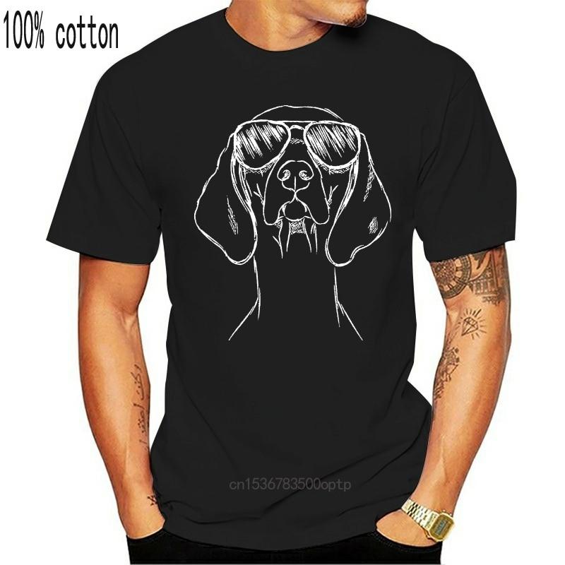 Inkopious sawyer o vizsla triblend t camisa de manga curta algodão moda t camisa